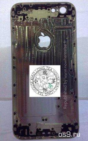 Опубликованы новые снимки задней панели iPhone 6