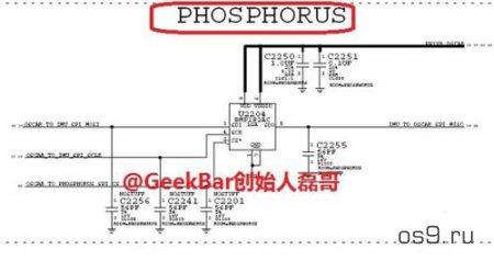 В чипе Apple A8 используется со-процессор Phosphorus (M8)