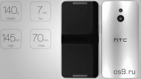 Концепт 64-битного смартфона HTC One M9